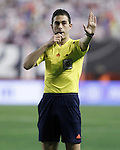 Spanish referee Inaki Vicandi Garrido during La Liga match. March 3,2016. (ALTERPHOTOS/Acero)