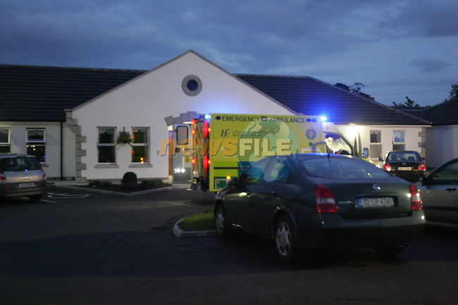 Two units of fire service from Drogheda and Balbriggan attended the scene of a fire at the Nursing Home in Stamulen on Friday Night..Photo: Fran Caffrey/ Newsfile.