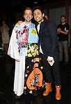 Curtis Holbrook and Manuel Herrera during the Broadway Opening Night  AEA Gypsy Robe Ceremony honoring Curtis Holbrook for  'IF/THEN' at the Richard Rodgers Theatre on March 30, 2014 in New York City.