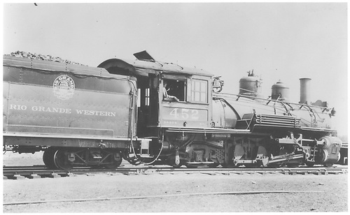 Side view of K-27 #452.<br /> D&amp;RGW