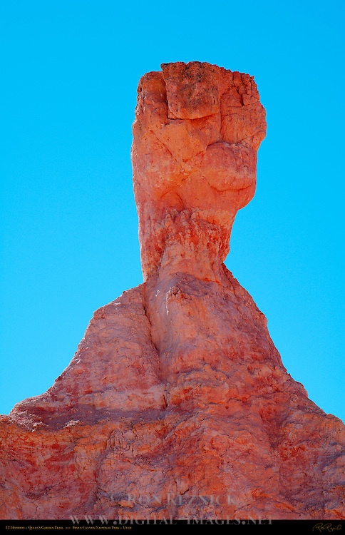 ET Hoodoo, Queen's Garden Trail, Bryce Canyon National Park, Utah