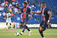 21st July 2020, Parc de Princes, Paris, France; Friendly club football, PSG versus Celtic;   NEYMAR JR of PSG comes forward on the ball