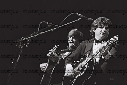 EVERLY BROTHERS<br />  - Phil Everly and Don Everly - performing live in Switzerland - 1989.  Photo credit: Bellia/ Dalle/IconicPix