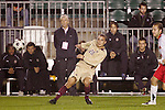 14 November 2008: Boston College's Mario Uribe (20). The University of Maryland defeated Boston College 1-0 at WakeMed Stadium at WakeMed Soccer Park in Cary, NC in a men's ACC tournament semifinal game.