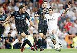 Real Madrid's Angel Di Maria against Manchester City's Javi Garcia during Champions League match. September 18, 2012. (ALTERPHOTOS/Alvaro Hernandez).