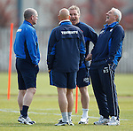 290411 Rangers training