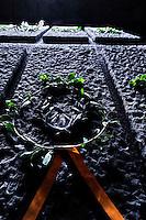 Roma, 24 Marzo 2013.Commemorazione per il 69° anniversario dell'eccidio delle Fosse Ardeatine,compiuto a Roma dalle truppe di occupazione della Germania nazista il 24 marzo 1944, furono uccisi, 335 civili e militari italiani. L'interno del Sacrario