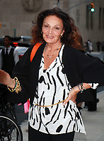 NEW YORK, NY - SEPTEMBER 8: Diane Von Furstenberg  arriving to the Daily Front Row Fashion Awards at Four Seasons NY Downtown in New York City on September 8,  2017. <br /> CAP/MPI/RW<br /> &copy;RW/MPI/Capital Pictures
