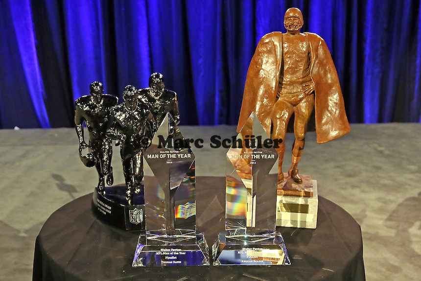 Awards der NFL für den High School Coach of the Year und den Walter Payton Man of the Year - NFL Pressekonferenz, Super Bowl XLIX, Convention Center Phoenix