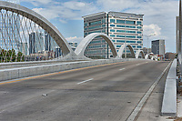 Fort Worth Texas 7th street bridge.