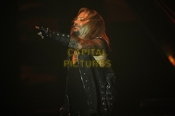 LONDON, ENGLAND - NOVEMBER 6: Vince Neil of 'M&ouml;tley Cr&uuml;e' performing at SSE Arena Wembley on November 6, 2015 in London, England.<br /> CAP/MAR<br /> &copy; Martin Harris/Capital Pictures