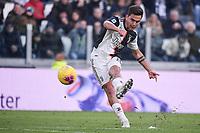 Paulo Dybala of Juventus <br /> Torino 6-1-2020 Juventus Stadium <br /> Football Serie A 2019/2020 <br /> Juventus FC - Cagliari Calcio <br /> Photo Federico Tardito / Insidefoto