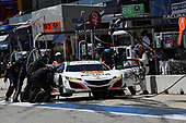 IMSA WeatherTech SportsCar Championship<br /> Advance Auto Parts SportsCar Showdown<br /> Circuit of The Americas, Austin, TX USA<br /> Saturday 6 May 2017<br /> 93, Acura, Acura NSX, GTD, Andy Lally, Katherine Legge pit stop<br /> World Copyright: Richard Dole<br /> LAT Images<br /> ref: Digital Image RD_COTA_17298