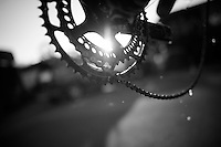 sunset crankset<br /> <br /> 2013 Tour of Britain<br /> stage 5: Machynlleth to Caerphilly (177km)