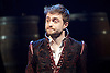 Rosencrantz &amp; Guildenstern Are Dead <br /> by Tom Stoppard <br /> at The Old Vic, London, Great Britain <br /> press photocall <br /> 3rd March 2016 <br /> EMBARGOED UNTIL 12 NOON ON MONDAY 6TH MARCH 2017 <br /> <br /> Daniel Radcliffe as Rosencrantz <br /> <br /> <br /> <br /> Photograph by Elliott Franks <br /> Image licensed to Elliott Franks Photography Services