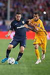 Atletico de Madrid's Koke and FC Barcelona Dani Alves during Champions League 2015/2016 Quarter-Finals 2nd leg match. April 13, 2016. (ALTERPHOTOS/BorjaB.Hojas)
