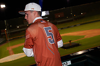 Booga de la Garza during the Under Armour All-America Tournament powered by Baseball Factory on January 17, 2020 at Sloan Park in Mesa, Arizona.  (Zachary Lucy/Four Seam Images)