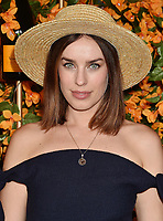 PACIFIC PALISADES, CA - OCTOBER 06: Jessica McNamee arrives at the 9th Annual Veuve Clicquot Polo Classic Los Angeles at Will Rogers State Historic Park on October 6, 2018 in Pacific Palisades, California.<br /> CAP/ROT/TM<br /> &copy;TM/ROT/Capital Pictures