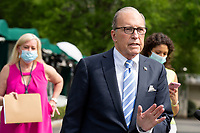 Director of the National Economic Council Larry Kudlow Speaks to the Press