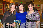 Maeve Keoghan, Anna Curtin and Rebecca Roche pictured at the opening night of Oliver the musical in Siamsa Tíre on Tuesday evening.