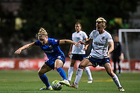 Seattle, Washington -  Sunday, September 11 2016: Seattle Reign FC midfielder Kim Little (8) during a regular season National Women's Soccer League (NWSL) match between the Seattle Reign FC and the Washington Spirit at Memorial Stadium. Seattle won 2-0.