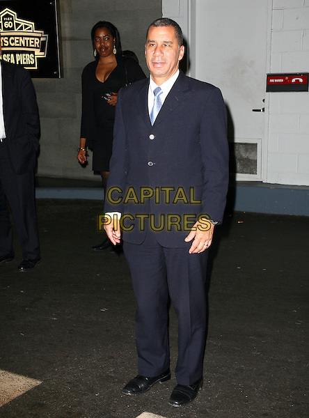 GOV. DAVID PATERSON .The Robert F. Kennedy Center for Justice & Human Rights Ripple of Hope awards dinner at Chelsea Piers, New York City, NY, USA, .17th November 2010..full length navy blue suit white shirt .CAP/ADM/PZ.©Paul Zimmerman/AdMedia/Capital Pictures.