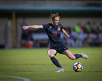 STANFORD, CA - August 10, 2018: Beattie Goad at Laird Q. Cagan Stadium. The Stanford Cardinal defeated the Fresno State Bulldogs 4-0.