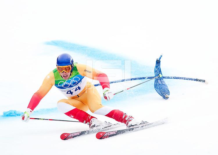 WHISTLER, BC, CANADA--Alpine Skiing, Men's Giant Slalom, Whistler Creekside.