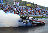 Jul, 20, 2012; Morrison, CO, USA: NHRA funny car driver Cruz Pedregon during qualifying for the Mile High Nationals at Bandimere Speedway. Mandatory Credit: Mark J. Rebilas-