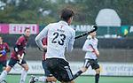 AMSTELVEEN - Wiegert Schut (Adam) tijdens de hoofdklasse competitiewedstrijd mannen, Amsterdam-HCKC (1-0).  COPYRIGHT KOEN SUYK