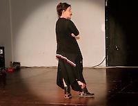 Emma Dante durante un suo laboratorio di recitazione.<br /> Emma Dante during his acting workshop.
