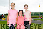 Lilly Collins, Anna O'Shea and Amy O'Shea at the WALK4AUTISM 5km Walk at the John Mitchels complex on Sunday