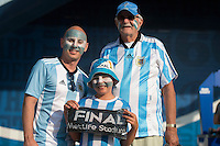 Photo before the match Argentina vs Chile corresponding to the Final of America Cup Centenary 2016, at MetLife Stadium.<br /> <br /> Foto previo al partido Argentina vs Chile cprresponidente a la Final de la Copa America Centenario USA 2016 en el Estadio MetLife , en la foto:Fans de Argentina<br /> <br /> <br /> 26/06/2016/MEXSPORT/OSVALDO AGUILAR