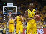 "02.06.2019, EWE Arena, Oldenburg, GER, easy Credit-BBL, Playoffs, HF Spiel 1, EWE Baskets Oldenburg vs ALBA Berlin, im Bild<br /> volle Konzentration<br /> William""Will"" CUMMINGS (EWE Baskets Oldenburg #3 ) Viojdan STOJANOVSKI (EWE Baskets Oldenburg #19 ) Rashid MAHALBASIC (EWE Baskets Oldenburg #24 )<br /> Foto © nordphoto / Rojahn"