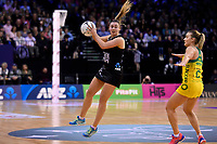 Silver Ferns&rsquo; Gina Crampton in action during the International Netball Constellation Cup - NZ Silver Fans v Australia Diamonds at TSB Bank Arena, Wellington, New Zealand on Thursday 18 October  2018. <br /> Photo by Masanori Udagawa. <br /> www.photowellington.photoshelter.com