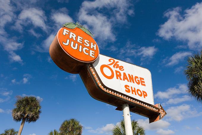"""The Orange Shop"" in central Florida."
