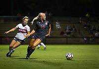 STANFORD, CA - August 10, 2018: Civana Kuhlmann at Laird Q. Cagan Stadium. The Stanford Cardinal defeated the Fresno State Bulldogs 4-0.