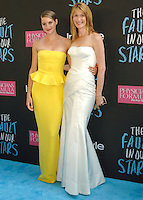 NEW YORK CITY, NY, USA - JUNE 02: Shailene Woodley, Laura Dern at the New York Premiere Of 'The Fault In Our Stars' held at Ziegfeld Theatre on June 2, 2014 in New York City, New York, United States. (Photo by Celebrity Monitor)