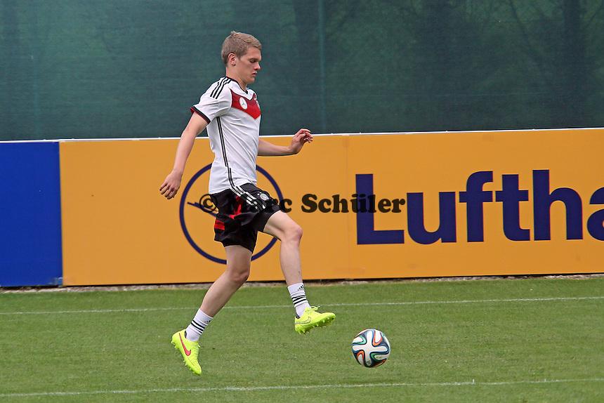 Matthias Ginter - Training der Deutschen Nationalmannschaft im Rahmen der WM-Vorbereitung in St. Martin