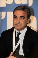 Presentazione dei candidati campani del Nuovo centro destra alle elezioni europee<br /> nella foto Paolo Romano