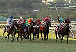 December 1 2018: The start of the Hollywood Derby (Grade 1) on December 1, 2018, at Del Mar Thoroughbred Club in Del Mar, CA.