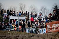 CX World Champion Mathieu van der Poel (NED/Corendon-Circus)<br /> <br /> Elite Men's Race<br /> UCI cyclocross WorldCup - Koksijde (Belgium)<br /> <br /> ©kramon