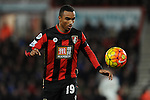 Junior Stanislas of Bournemouth<br /> - Barclays Premier League - Bournemouth vs Manchester United - Vitality Stadium - Bournemouth - England - 12th December 2015 - Pic Robin Parker/Sportimage