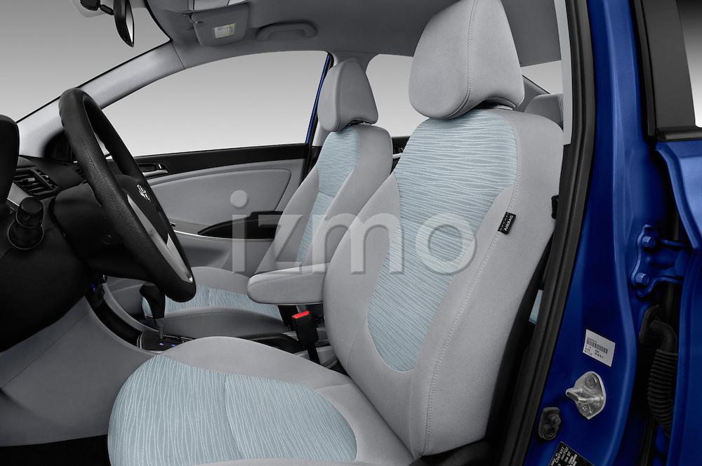 Front seat view of 2017 Hyundai Accent SE 4-Door 6-Speed Automatic 4 Door Sedan Front Seat  car photos