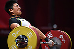 Toshiki Yamamoto (JPN), <br /> AUGUST 24, 2018 - Weightlifting : Men's 85kg at JIExpo Kemayoran Hall A during the 2018 Jakarta Palembang Asian Games in Jakarta, Indonesia. <br /> (Photo by MATSUO.K/AFLO SPORT)