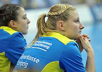 Handball Champions League Frauen 2013/14 - Handballclub Leipzig (HCL) gegen Metz (FRA) am 10.11.2013 in Leipzig (Sachsen). <br /> IM BILD: Elisa Möschter / Moeschter (HCL) <br /> Foto: Christian Nitsche / aif