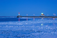 &quot;Winter Twilight in Canal Park&quot;<br />