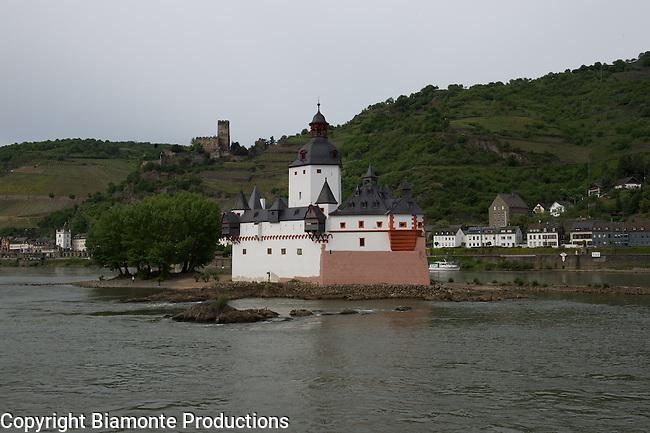 Koblenz, Germany, Marksburg Castle, & Middle Rhine