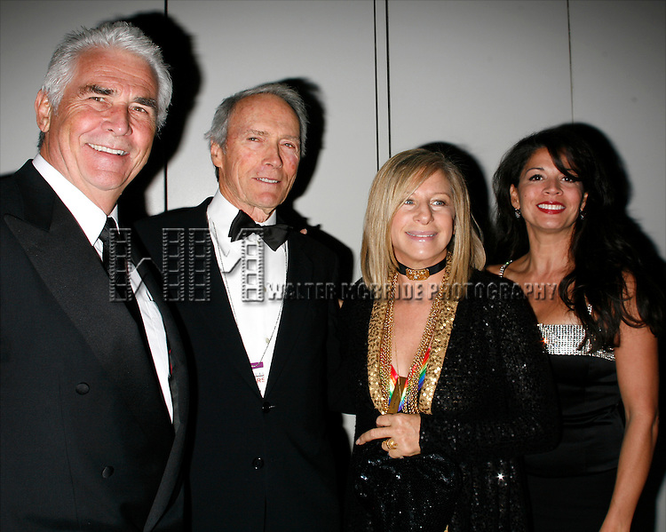 James Brolin, Clint Eastwood &amp; Barbra Streisand &amp; Dina Eastwood<br /> arriving for The 31st Kennedy Center Honors at the Kennedy Center Hall of States in Washington, D.C. December 7, 2008