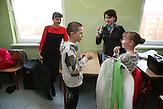 Sascha und  Igor nach dem Auftritt  in Sigulda.